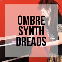 DIY: How to Create Ombre Synthetic Dreadlocks (2 Methods)