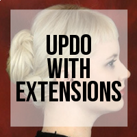 How to Create an Updo with Hair Extensions Installed