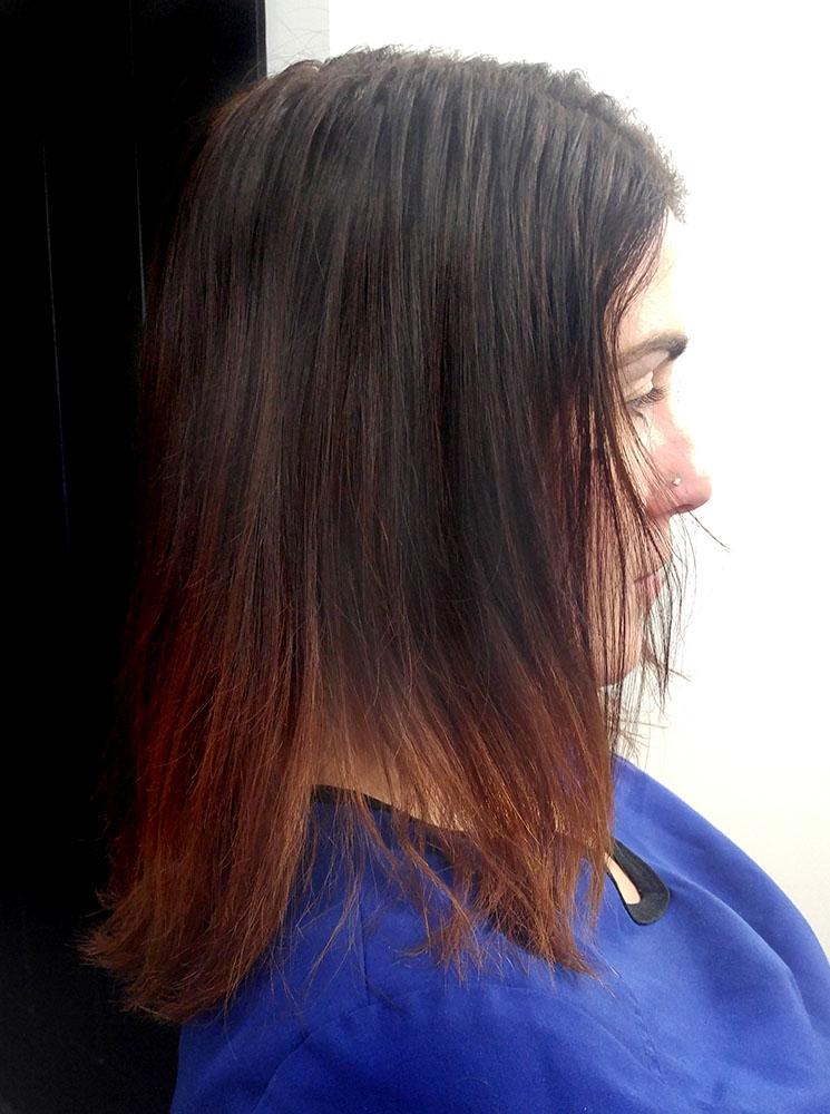 Braidless Weave Hair Extension Stylist